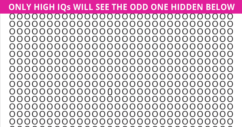 Only 6% Of People Can Achieve 100% In This Odd One Out Visual Puzzle. Are You Up To The Challenge?
