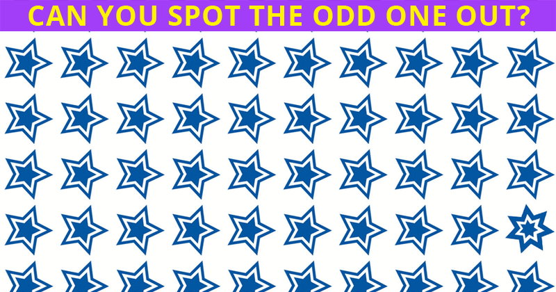 Almost No One Can Ace This Odd One Out Visual Test. Are You Up To The Task?