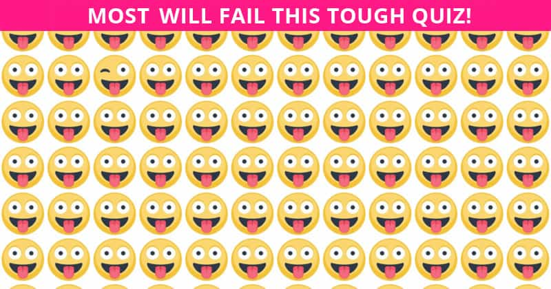 Almost No One Can Ace This Challenging Odd One Out Test. How About You?