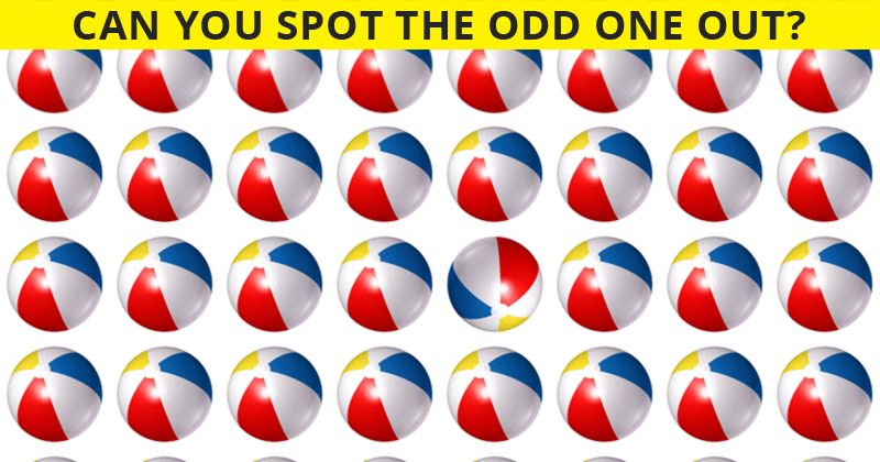 How Fast Can You Find The Odd One Out In This Difficult Visual Test?