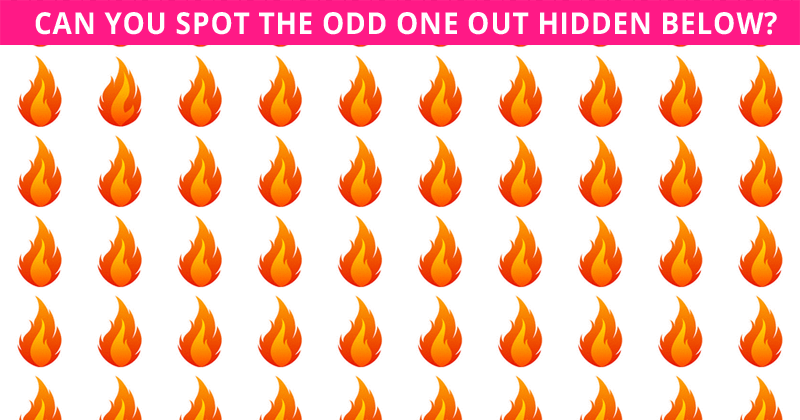 Only 10% Of People Can Beat This Odd One Out Visual Task. Are You Up To The Task?