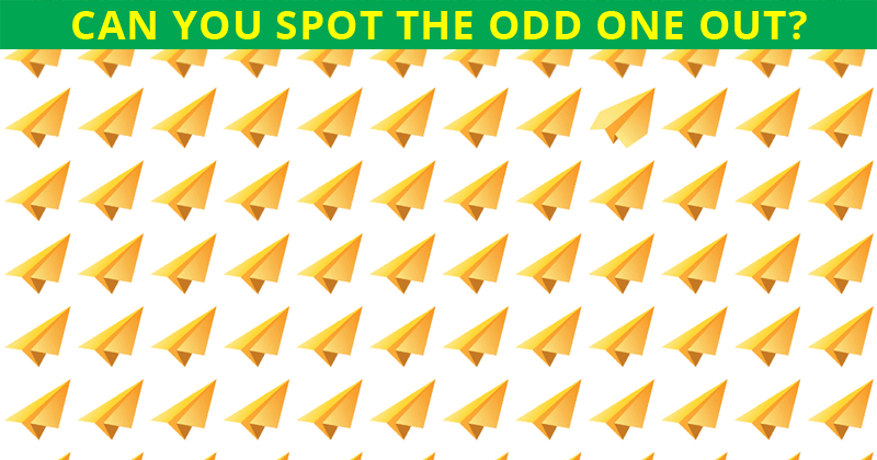 This Odd One Out Puzzle Will Determine Your Visual Perception Talents In 60 Seconds