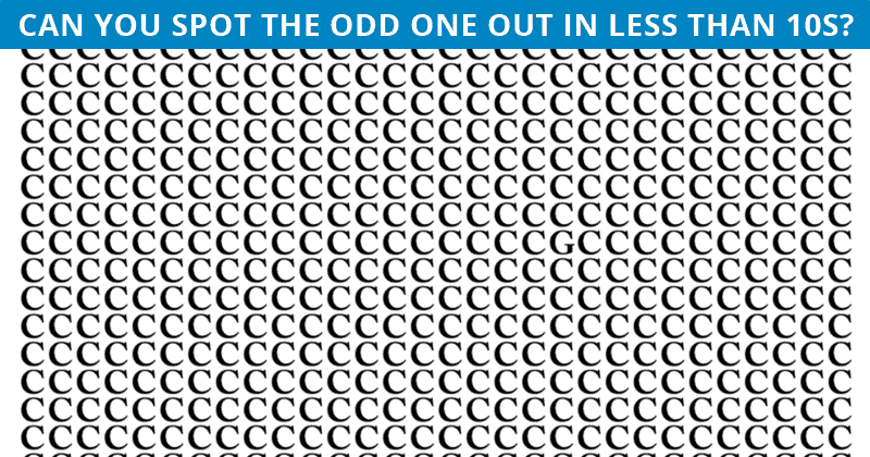 Only 1 In 30 Sharp-Eyed People Can Achieve 100% In This Odd One Out Visual Challenge. How About You?