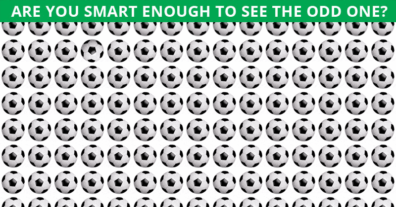 Nobody Can Solve This. Can You Spot The Odd One Out Immediately?