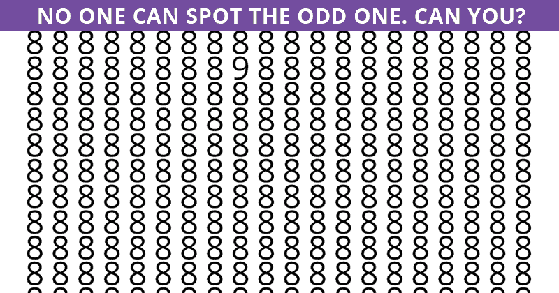 Only 1 In 30 Sharp-Eyed People Can Ace This Challenging Odd One Out Visual Game. How About You?