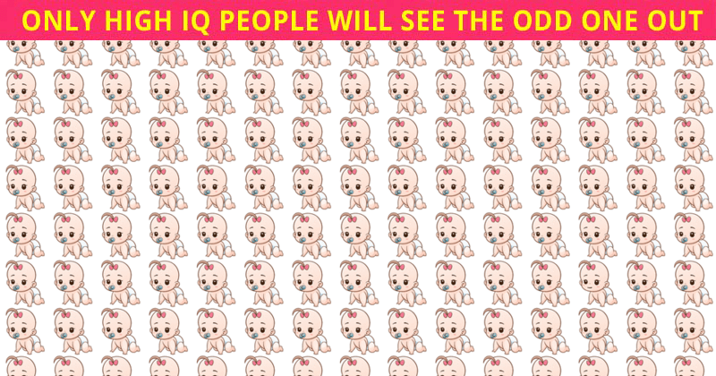 Only 5% Of People Can Achieve 100% In This Odd One Out Visual Challenge. Are You Up To The Challenge?