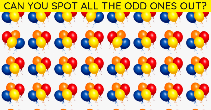 Challenge Time: No One Can Solve This Puzzle. Can You Spot The Odd One Out In Less Than 10 Seconds?