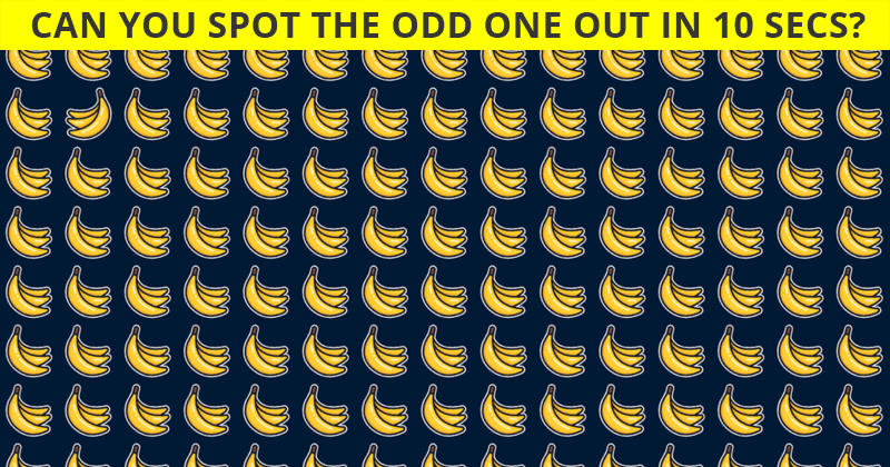 This Odd Ones Out Visual Quiz Will Determine Your Visual Perception!