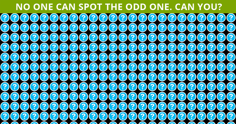 Only 25 People Have Passed This Odd One Out Test So Far! Will You?