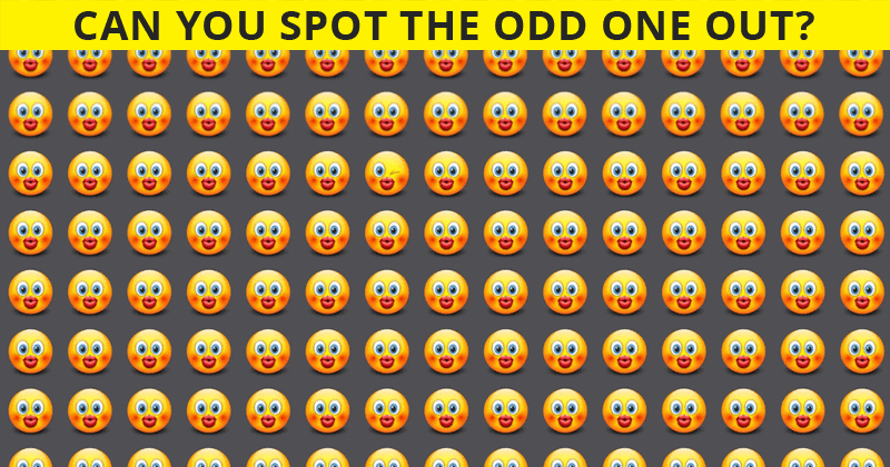 This Odd One Out Puzzle Will Determine The Sharpness Of Your Eyesight In One Minute