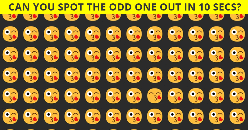 This Odd One Out Puzzle Will Determine Your Visual Perception Talents!