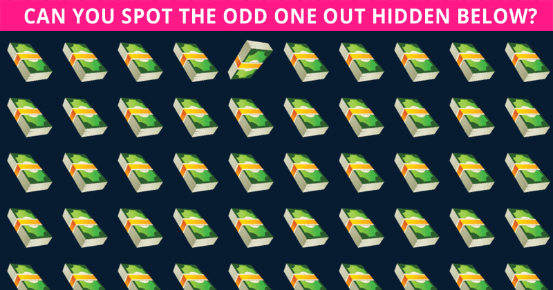 Only 3% Can Beat This Odd Ones Out Test! Find Out If Your IQ Is High Enough To Pass This Challenge