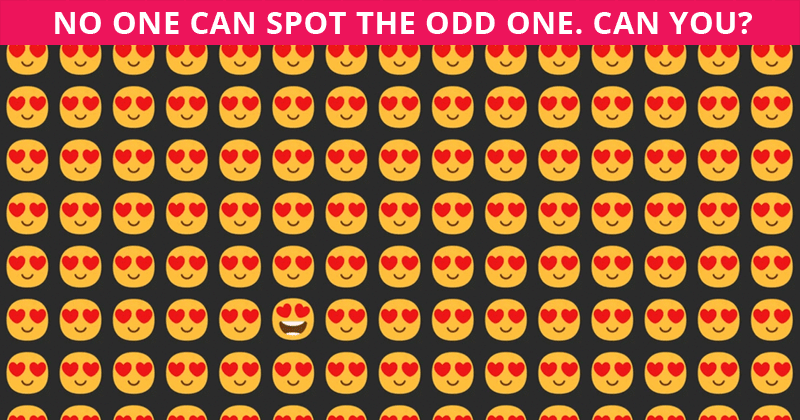 Difficult Visual Quiz: Can You Spot The Odd One Out Within 12 Seconds?