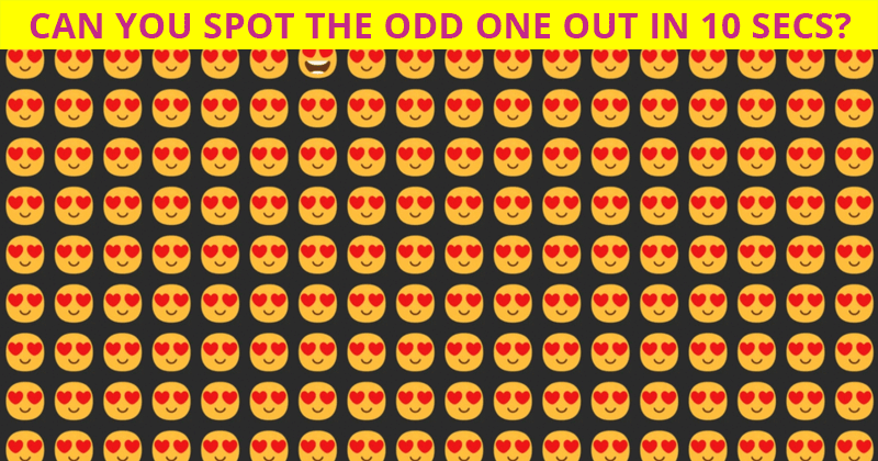 Only 1 In 25 People Can Ace This Challenging Odd One Out Visual Puzzle. How About You?