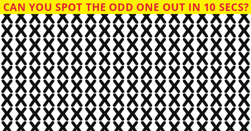 Only 1 In 30 People Can Achieve 100% In This Difficult Odd One Out Puzzle. How About You?