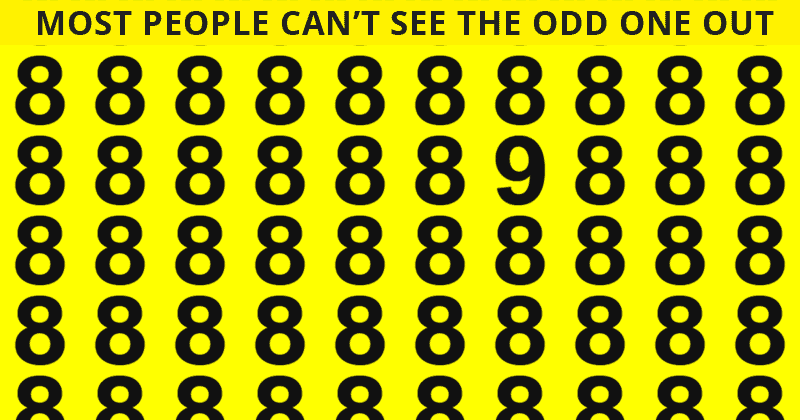 Only 10% Of People Can Beat This Odd One Out Quiz! Find Out If Your IQ Is High Enough To Pass This Test