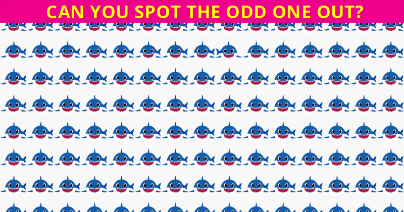 Only 1 In 30 Sharp-Eyed People Can Beat This Odd One Out Test. Are You Up To The Challenge?