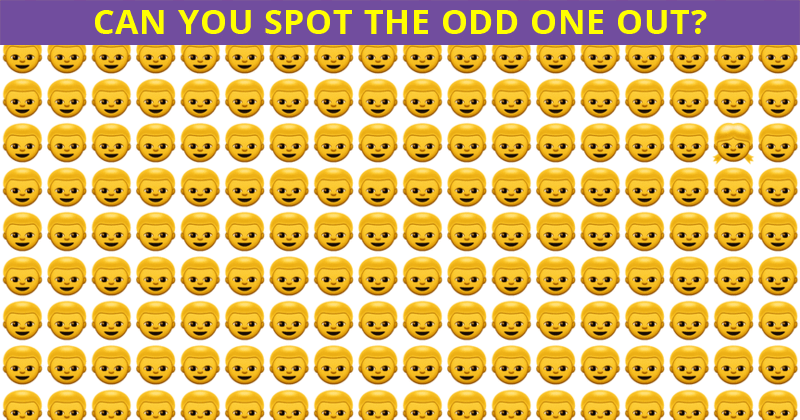 This Odd One Out Visual Game Will Determine The Sharpness Of Your Eyesight In One Minute