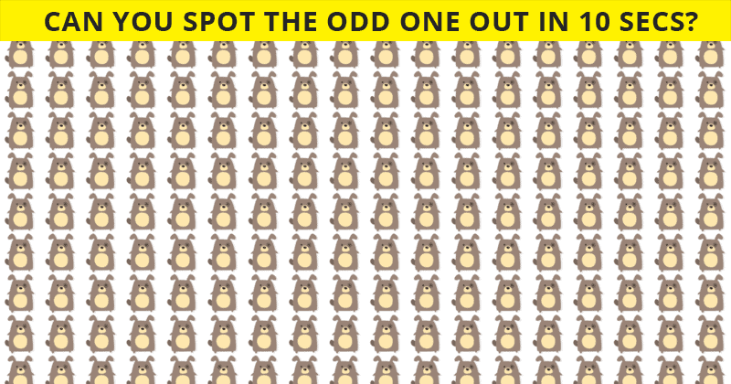 This Odd One Out Visual Test Will Determine Your Visual Perception Talents!