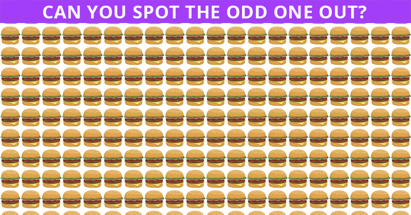 Aceing This Tricky Odd One Out Visual Test Is Impossible. Prove Us Wrong