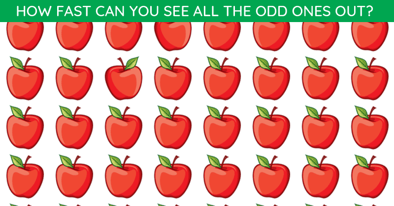 People Are Saying This Popular Odd One Out Visual Challenge Is Impossible. Prove Us Wrong!