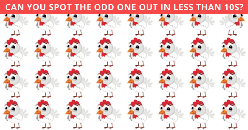 This Odd One Out Quiz Will Determine Your Visual Perception Talents In Less Than One Minute