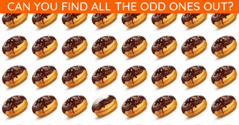 Only People With A Seriously High IQ Will Be Able To Ace This Odd One Out Visual Challenge! How About You?