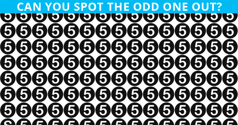 Only People With An Unusually High IQ Will Be Able To Best This Odd One Out Visual Game! Can You?