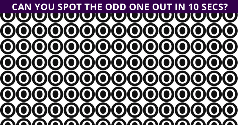 How Fast Can You Find The Odd One Out In This Visual Challenge?