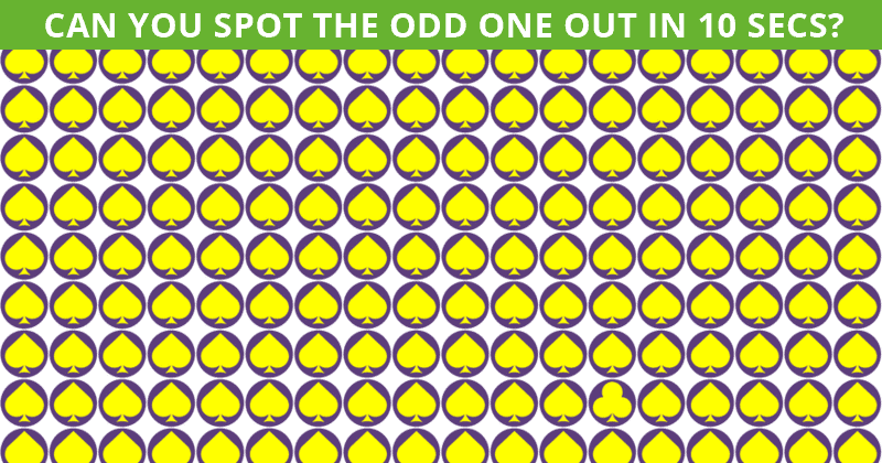 Only 7% Of People Can Beat This Tough Odd One Out Visual Game. How About You?
