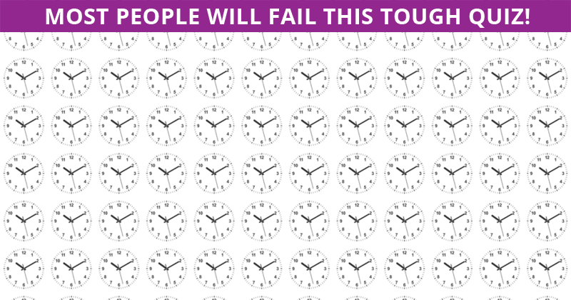 Only 10% Can Beat This Odd One Out Quiz! Find Out If Your IQ Is High Enough To Pass This Test
