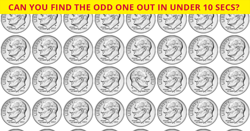 Only 1 In 35 People Can Beat This Odd One Out Visual Challenge. Are You Up To The Challenge?