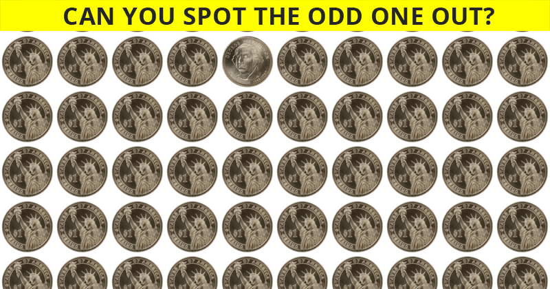 Challenge Time: Nobody Can Solve This. Can You Spot The Odd Ones Out In Less Than 10 Seconds?