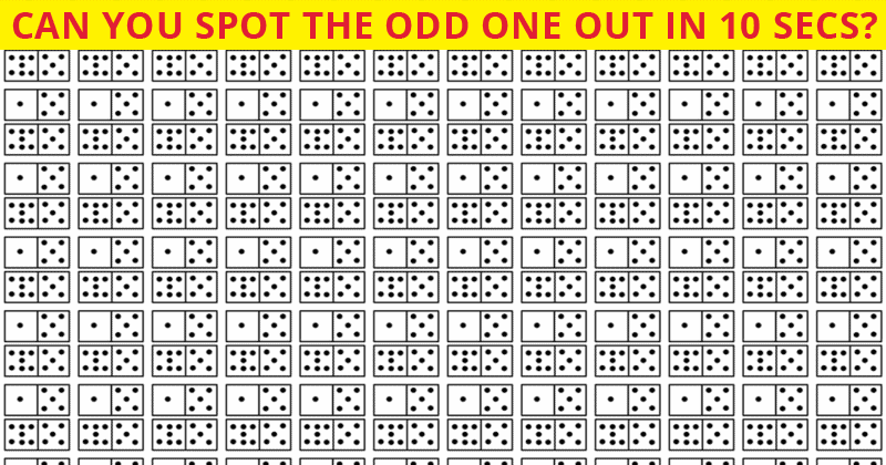 Only 4 Out Of 100 People Will Graduate From This Tricky Odd One Out Visual Puzzle!