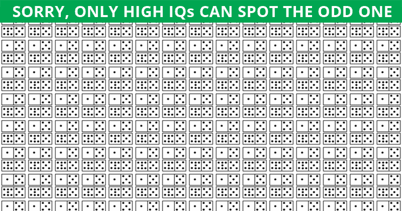 Only 1 In 35 People Can Ace This Odd One Out Visual Puzzle. Are You Up To The Challenge?