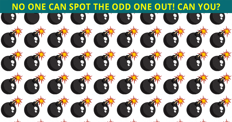 Only 4 Out Of 100 People Will Graduate From This Odd One Out Test! Will You?