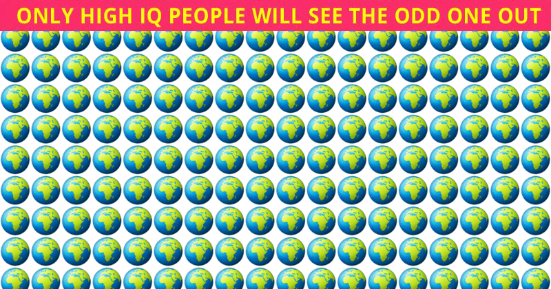 Only People With A High IQ Will Be Able To Ace This Odd One Out Visual Puzzle! How About You?