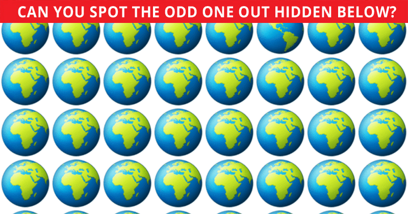 Almost No One Can Achieve 100% In This Odd One Out Visual Game. Prove Us Wrong!