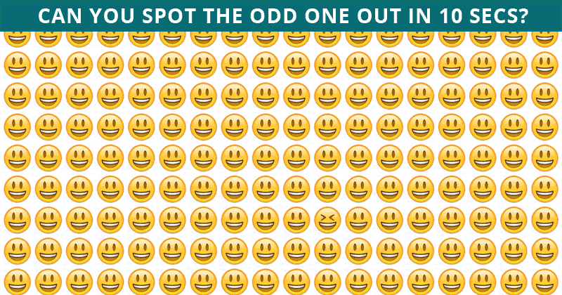 Only 7% Of People Can Beat This Difficult Odd One Out Visual Puzzle. How About You?