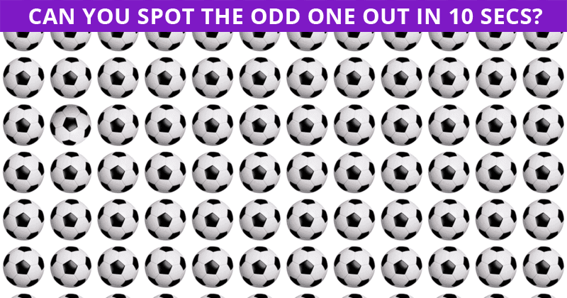 Only 1 In 30 Sharp-Eyed People Can Beat This Odd One Out Quiz. Are You Up To The Challenge?