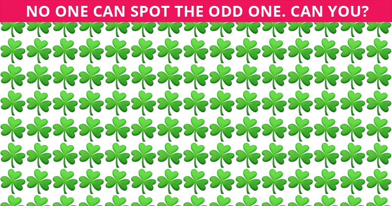Only About 10% Can Beat This Odd One Out Test! Find Out If Your IQ Is High Enough To Pass This Challenge