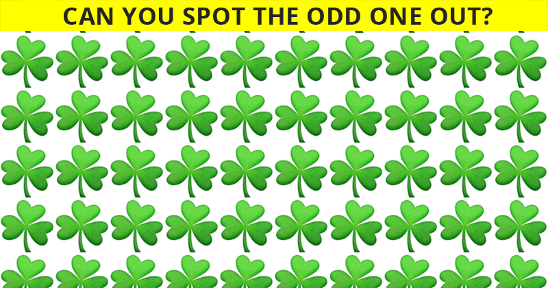 Only 1 In 30 Sharp-Eyed People Can Ace This Difficult Odd One Out Visual Challenge. How About You?
