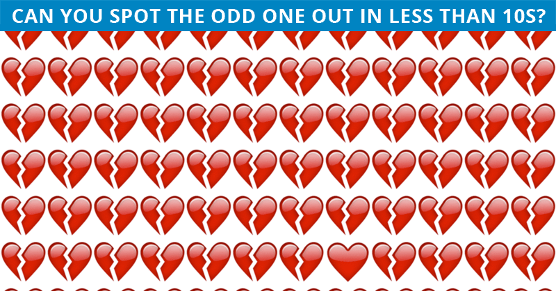 Only 4% Of People Can Ace This Challenging Odd One Out Visual Puzzle. How About You?