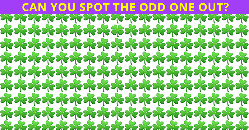 Only People With An Unusually High IQ Will Be Able To Best This Odd One Out Visual Puzzle! Can You?