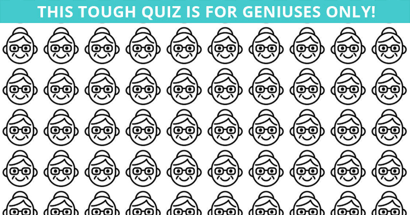 Only Highly Creative People Can Pass This Odd One Out Game