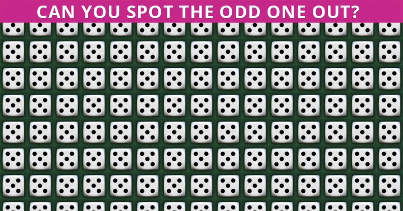 This Odd One Out Quiz Will Determine Your Visual Perception Talents In About One Minute