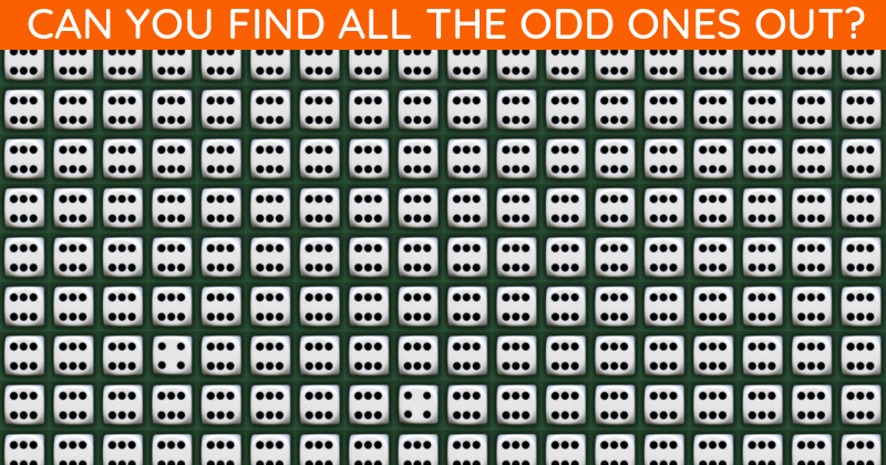 Only 6% Of People Can Achieve 100% In This Multiple Odd Ones Out Test. How About You?