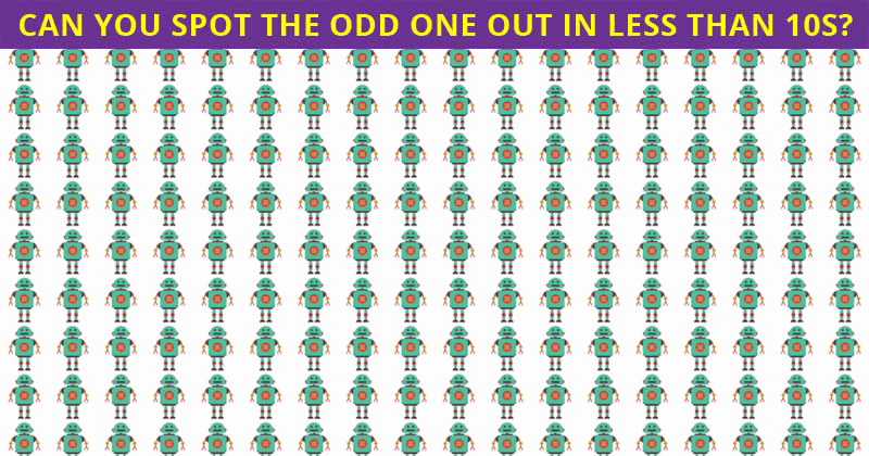Almost No One Can Ace This Challenging Odd One Out Visual Game. How About You?