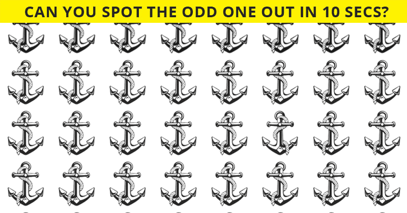 Only People With A High IQ Will Be Able To Best This Odd One Out Visual Challenge! How About You?