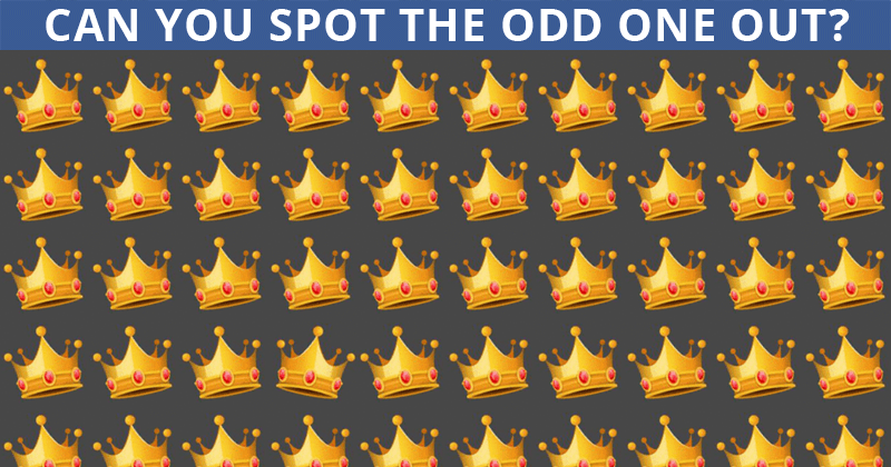 Only People With An Unusually High IQ Will Be Able To Ace This Odd Ones Out Visual Test! Can You?